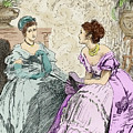 Scene From Anthony Trollope's Novel He Knew He Was Right by Marcus Stone
