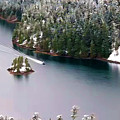 Scene Over Diablo Lake by Jeelan Clark