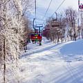 Scenery Around Timberline Ski Resort West Virginia by Alex Grichenko