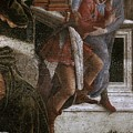 Scenes From The Life Of Moses Detail Alessandro Botticelli by Eloisa Mannion