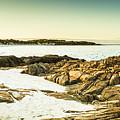 Scenic Coastal Dusk by Jorgo Photography - Wall Art Gallery