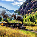 Scenic Durango And Silverton Steam Train by Christopher Arndt