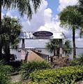 Scenic Melbourne Beach Pier  Florida by Allan  Hughes