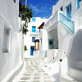 Scenic Mykonos by HD Connelly