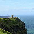 Scenic O'brien's Tower A Top The Cliff's Of Moher In Ireland by DejaVu Designs