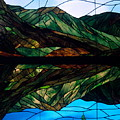 Scenic Stained Glass  by Sally Weigand