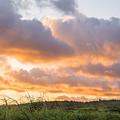 Scenic Sunset In Poipu, Kauai Island by Julia Hiebaum