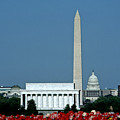Scenic View Of Washington D.c by Kenneth Garrett