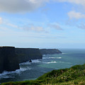 Scenic Views Of Ireland's Cliff's Of Moher In County Clare by DejaVu Designs