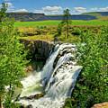 Scenic White River Falls by Connie Cooper-Edwards