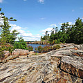 Scenic Wreck Island by Debbie Oppermann