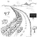 Schadenfreude Next 20 Miles by David Sipress