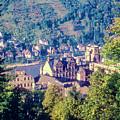 Schloss Heidelberg by Bob Phillips