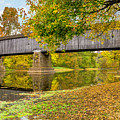 Schofield Bridge Over The Neshaminy by Nick Zelinsky