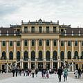 Schonbrunn Palace by Sharon Popek