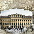 Schonbrunn Palace Travel Map Globe by Sharon Popek