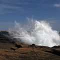 Schoodic Point In Acadia National Park by Juergen Roth