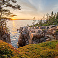 Schoodic Point Sunset by Humble Valley Photography