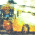 School Bus by Davy Cheng