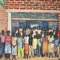 School Class Burkina Faso Series by Reb Frost