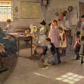 School Is Out by Elizabeth Adela Stanhope Forbes