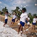 School Trip To Beach IIi by Rafa Rivas