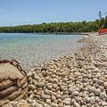 Schoolhouse Beach Washington Island by Nikki Vig