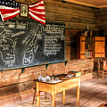 Schoolhouse Classroom At Old World Wisconsin by Christopher Arndt