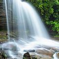 Schoolhouse Falls In Nantahala National Forest Panorama by Ranjay Mitra