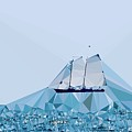 Schooner, Abstracted by Sandy Taylor