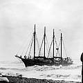Schooner Shipwreck by Underwood Archives