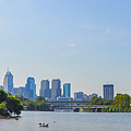 Schuylkill River Panorama - Philadelphia by Bill Cannon