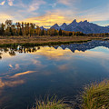 Schwabacher Sunset 1 by D Robert Franz