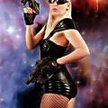 Scifi Heroine by Jon Volden