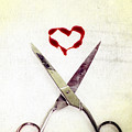 Scissors And Heart by Joana Kruse