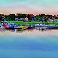 Scituate Harbor At Sunset by Jeremie Doucette
