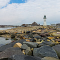 Scituate Lighthouse And Cedar Point by Brian MacLean