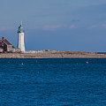 Scituate Lighthouse From Across The Harbor by Brian MacLean