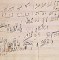 Score Sheet Of Moonlight Sonata by Ludwig van Beethoven