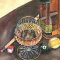 Scotch Cigars And Pool by Debbie DeWitt