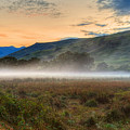 Scotland Mist In Widescape by James Anderson