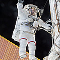 Scott Kelly, Expedition 46 Spacewalk by Science Source