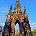 Scott Monument, Edinburgh, Scotland by Karol Kozlowski