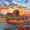 Scottish Castle - Eilean Donan by Edward McNaught-Davis