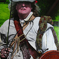 Scottish Soldier Of The Sealed Knot At The Ruthin Seige Re-enactment by Harry Robertson