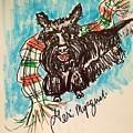 Scottish Terrier by Geraldine Myszenski