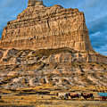 Scotts Bluff National Monument by Elizabeth Winter