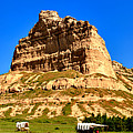 Scotts Bluff National Monument Panorama by Adam Jewell