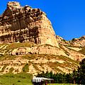 Scotts Bluff National Panoramic Landscape by Adam Jewell
