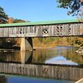 Scotts Covered Bridge West River by John Burk